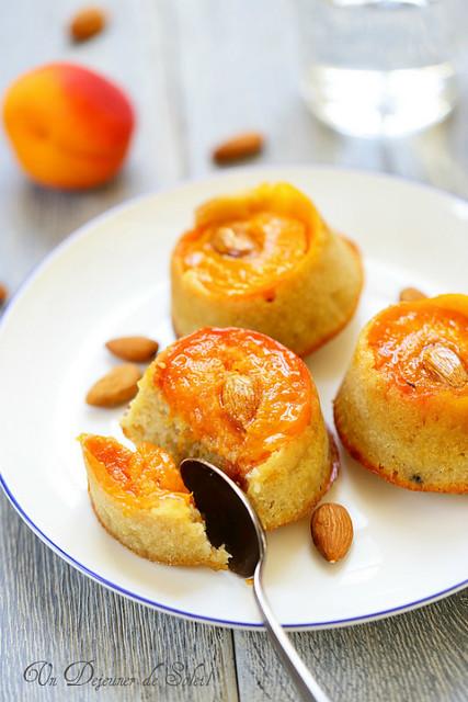 Gateau renversé abricots amandes_abricots