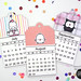 SRM Stickers Mini Calendar by Annette Allen My Clever Creations