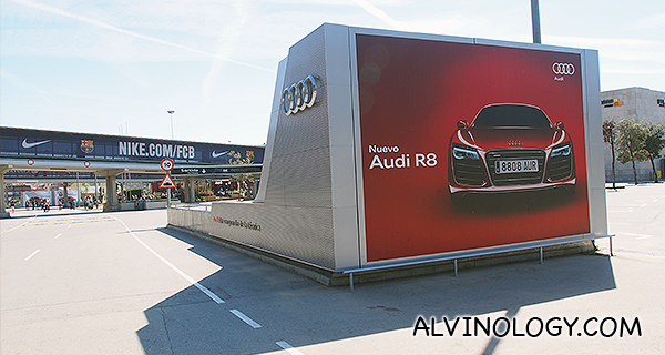 Audi branding