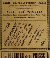 """Image from page 1252 of """"Revue de viticulture : organe de l'agriculture des régions viticoles"""" (1893)"""