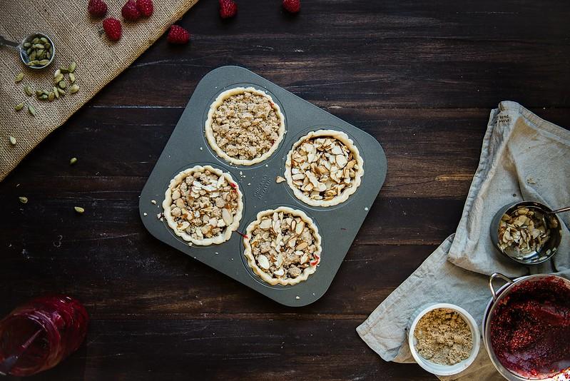 Rasberry Cardamom Tarts