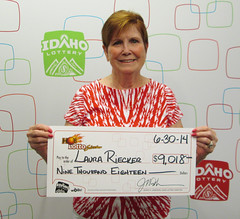 Laura Rieker - $9,019 Hot Lotto