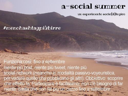 a-social summer