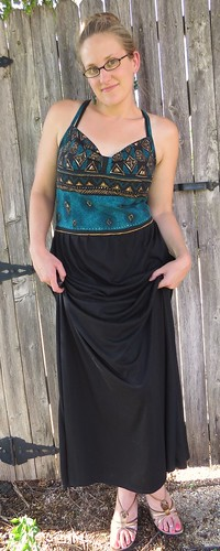 Tribal Maxi Dress - After