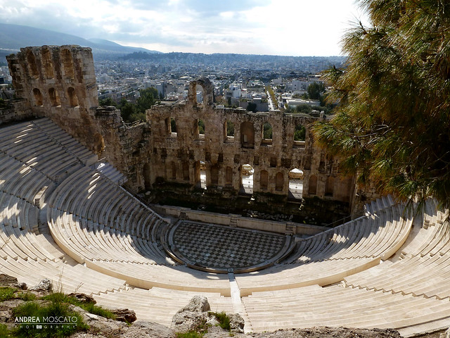 Odeon of Herodes Atticus, Acropolis - Athens, Greece