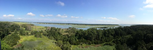 Panoramic view from Assateague lighthouse