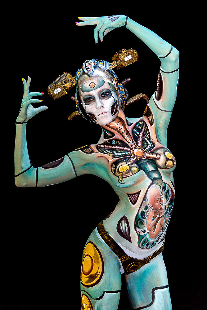 Body Painting in Pörtschach