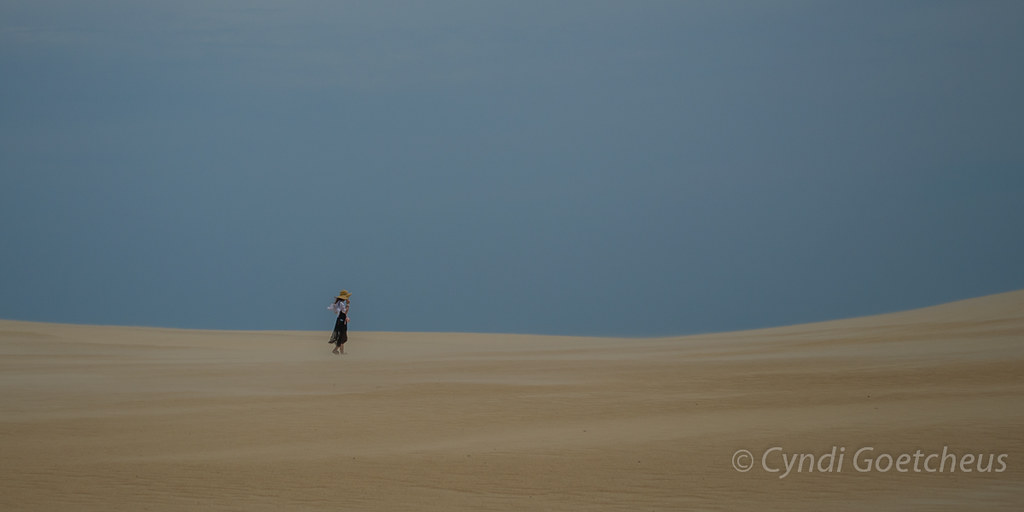 solitude in sand