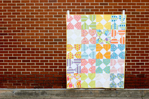 Vintage Summer Project Book - Block Flower Quilt