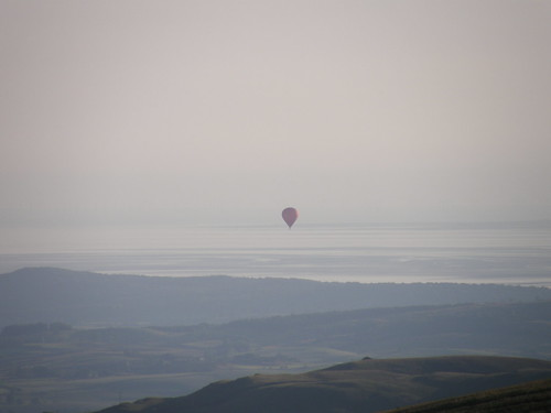 Balloon ride over Morecambe Bay