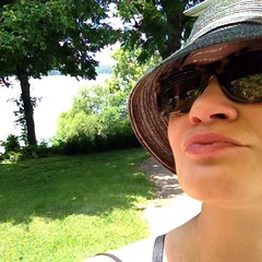 Selfie by the lake. All summers should be spent like this. #myoldkentuckyhome