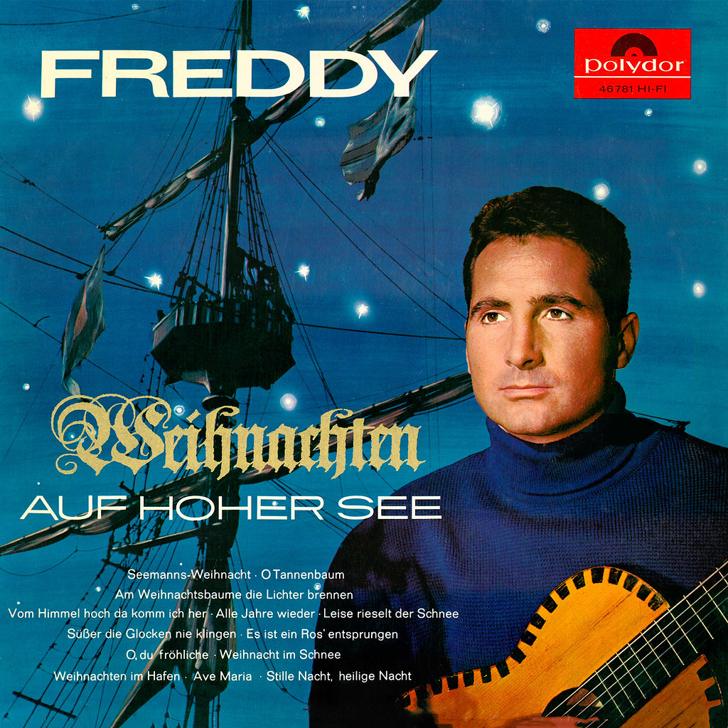 freddy quinn lp cover art