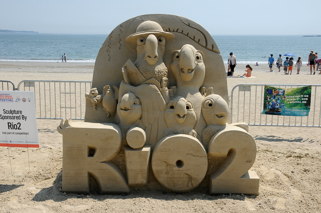 11 Revere Beach Sand Sculptures '14