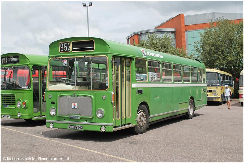 Exeter Bus Rally POD830H