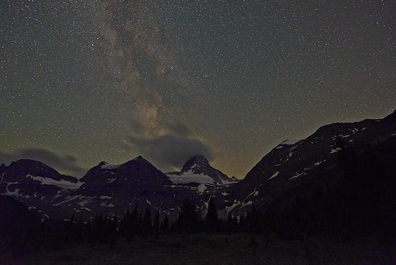 Milkyway over Mount Assiniboine