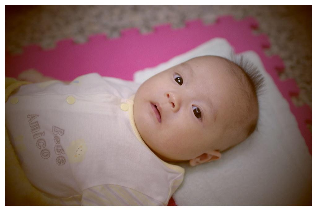 小柚子三個月