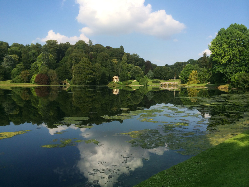 Stourhead Gardens lake #scenery #lake
