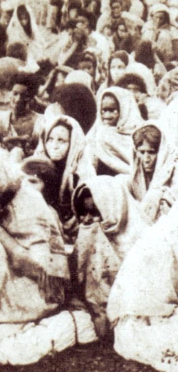Canudos: sobreviventes capturados (detalhe)