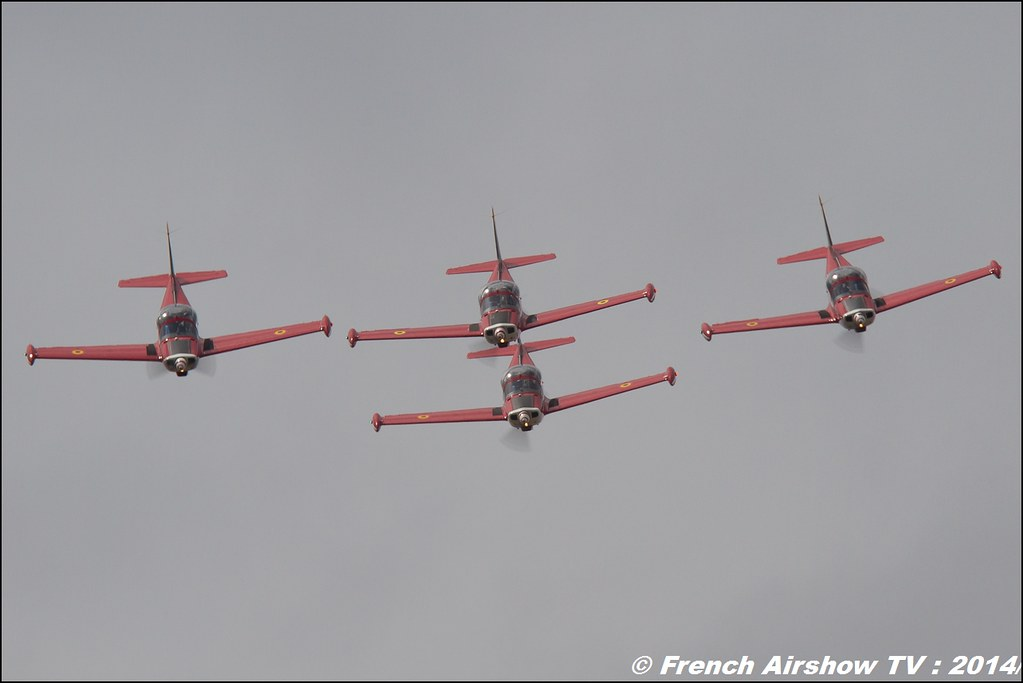 Red Devils Team Belgium , Meeting Aerien BA-133 Nancy Ochey 2014