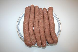 04 - Zutat Bratwürstchen / Ingredient bratwurst
