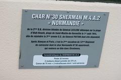 Char Sherman caractéristiques