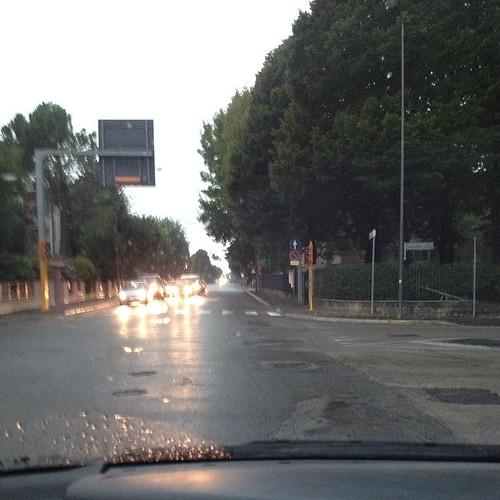 Dicono che è il 5 agosto e sono le 8,40 di mattina #stranaestate #giriingiro