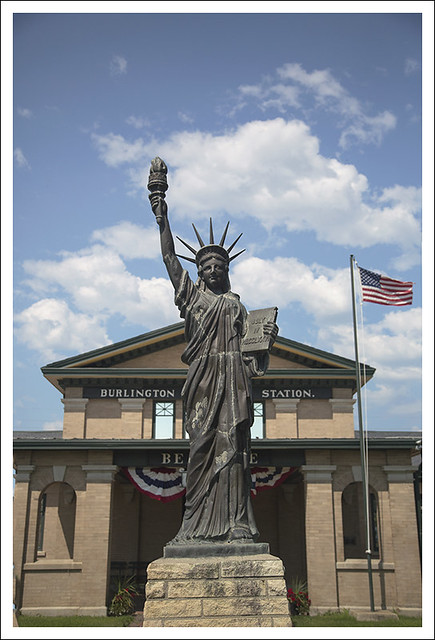 Statue of Liberty Beatrice NE