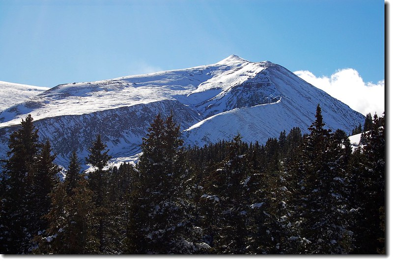 Mt. Lincoln as seen from Hoosier Pass 1