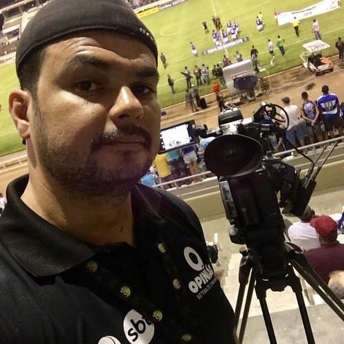 Na labuta clássico das multidões CSA x CRB Copa do Nordeste #tvpontaverde #canal5 #sbt #jornalismoesportivo #SistemaOpinião #NordestinoNoPlural #cinegrafista #labuta #niguemfaznadasozinho #amooquefaço