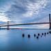 Bay Bridge Sunrise by alittlegordie