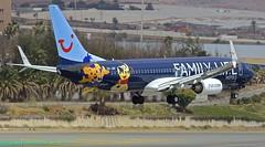 LPA/GCLP: TuiFly Boeing B737-800 OO-JAF