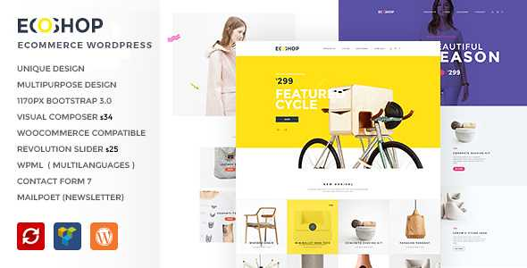 ECOSHOP WordPress Theme free download
