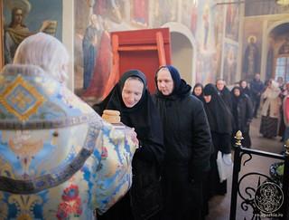 Литургия в Иверском монастыре 590