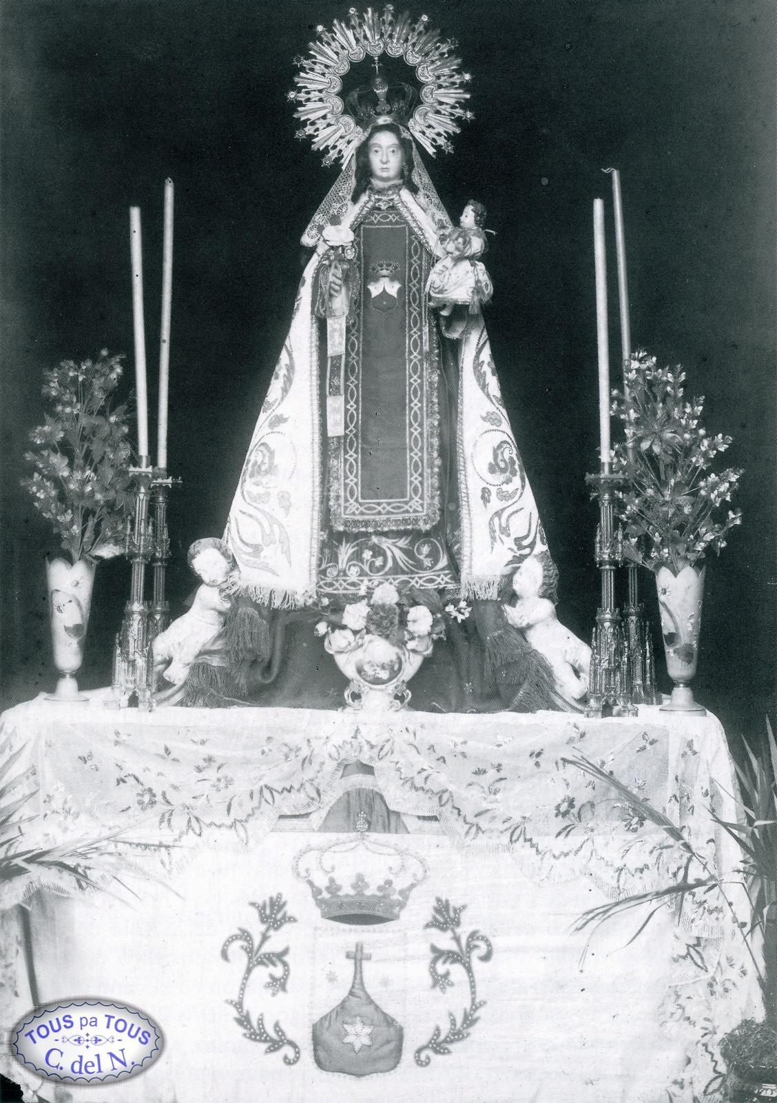 1905 - Virgen del Carmen