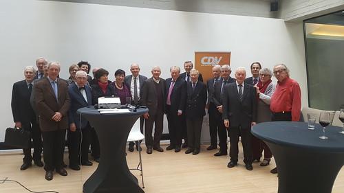 bijeenkomst gewezen CD&V Parlementsleden