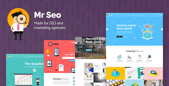 Mr. SEO WordPress Theme free download