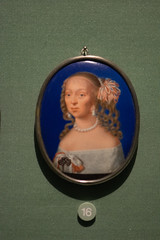 Miniature of an aristocratic lady