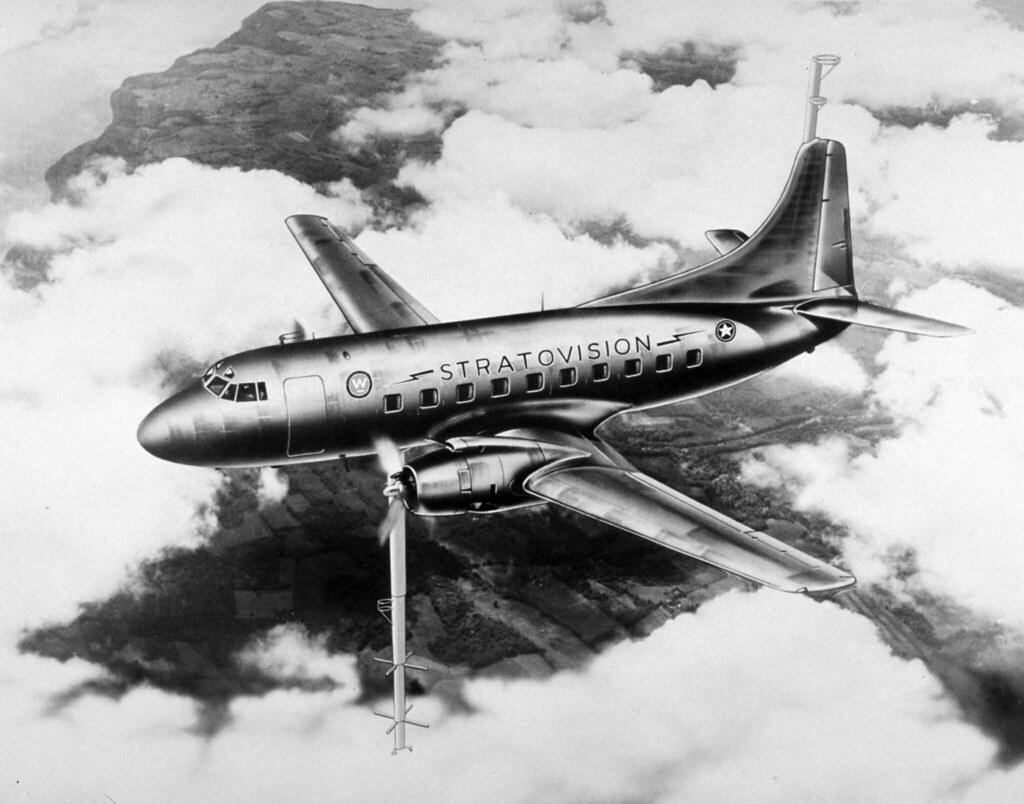 Stratovision_Martin 2-O-2_circa 1940s