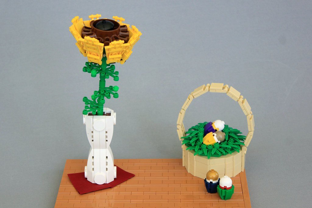Blossom of Spring (custom built Lego model)