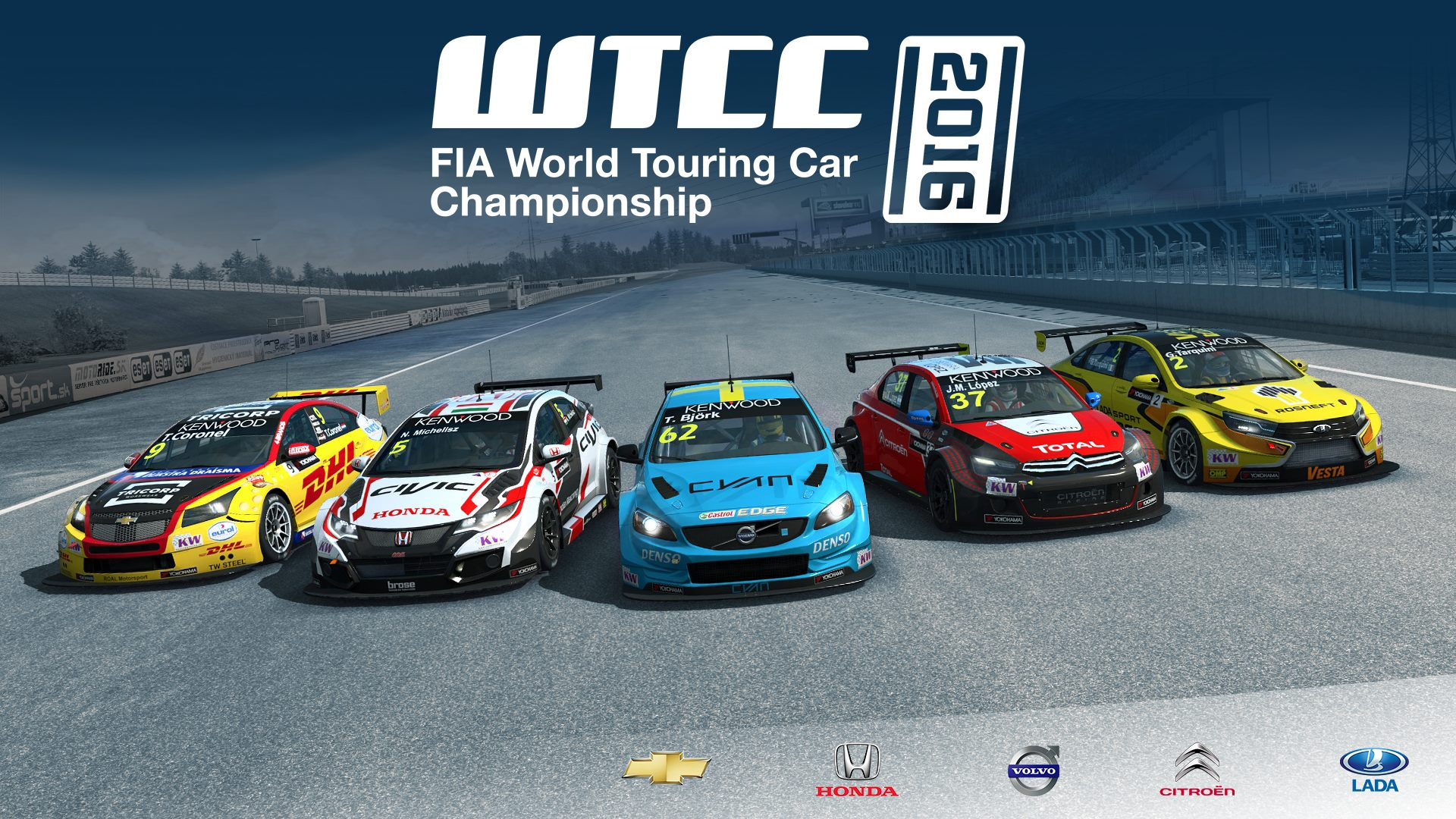 RaceRoom U2013 Update And 2016 World Touring Car Championship Released