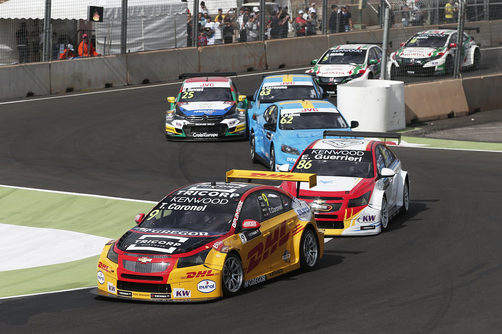 09 CORONEL Tom (ned) Chevrolet RML Cruze team ROAL Motorsport action during the 2017 FIA WTCC World Touring Car Race of Morocco at Marrakech, from April 7 to 9 - Photo Jean Michel Le Meur / DPPI.