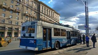 Moscow trolleybus 2780 Trolza-5275.05