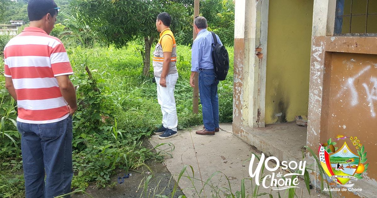 Entidades de Chone realizaron recorrido por zonas propensas a inundaciones