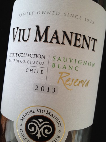 Sauvignon Blanc from Chile
