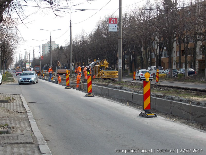 Traseul 102, etapa I: Bucla Nord ( Sp. Județean ) - Intersecție Republicii - Pagina 2 13506480763_db8bddb82f_c