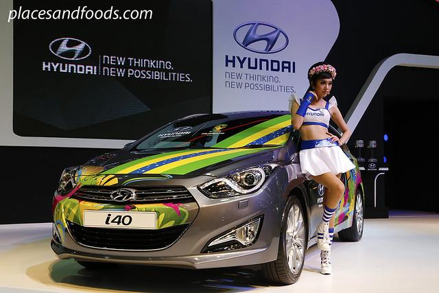 bangkok international motorshow hyundai i40