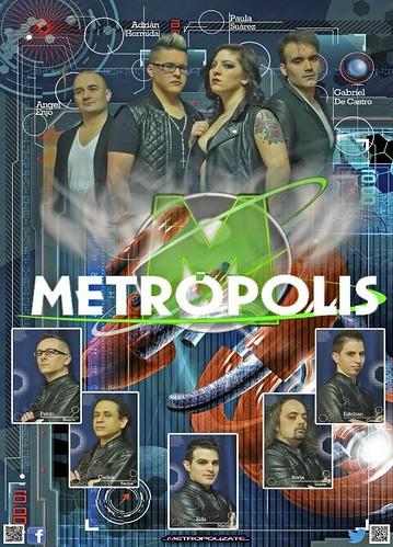Grupo Metrópolis 2014 - cartel