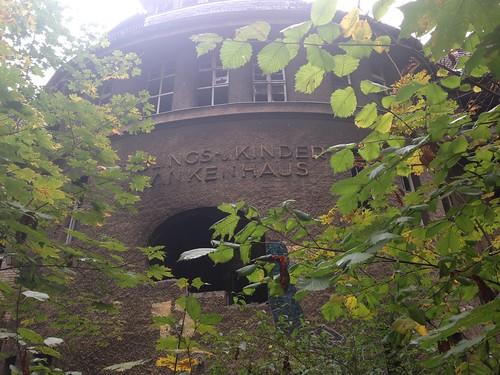 Ehemliges KInderkrankenhaus Weißensee Berlin