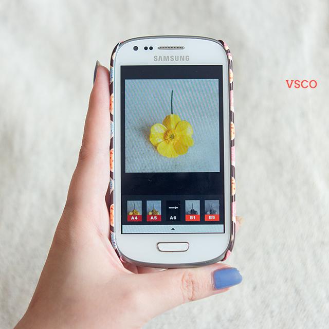 android camera - vsco