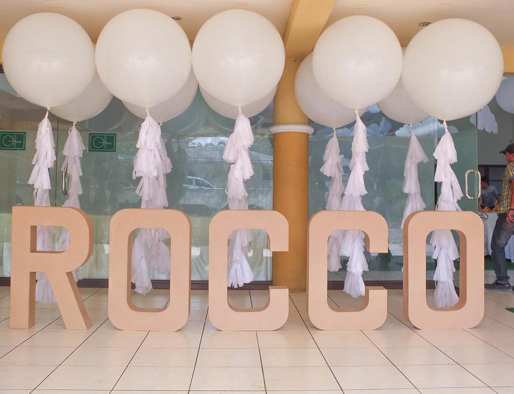 It's Rocco's Party!